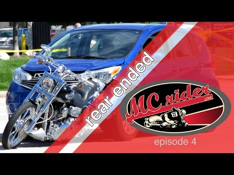 How to avoid being rear ended on your motorcycle - Episode 4 MCrider