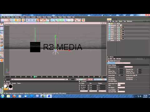 How To Change Color Of Text In Cinema 4D