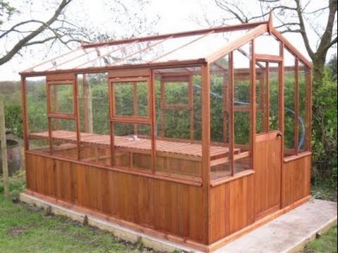 Free greenhouse plans diy just b cause for Small wooden greenhouse plans