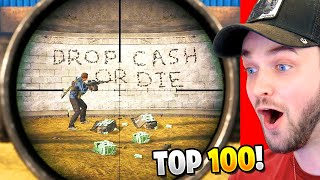 COD WARZONE Top 100 FUNNIEST plays! (Fails + Wins)