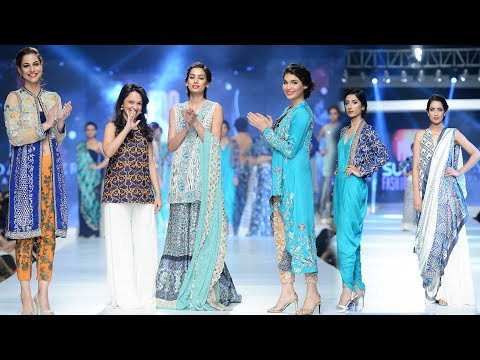 Sunsilk Fashion Week 2019 || Pakistan Top Trend Dresses || #PSFW19
