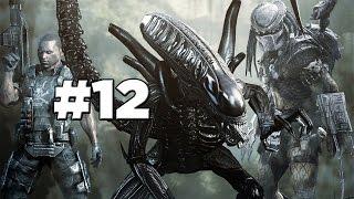 Aliens vs Predator | Alien Campaign | Mission 1 | Part 12 (Xbox 360)