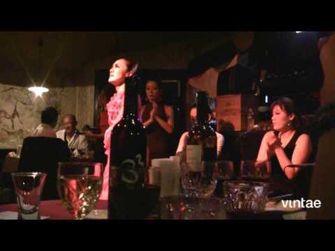 Great pairing: Japan, Spain, Flamenco and Vintae wines