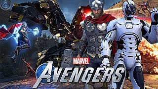 Marvel's Avengers Game - NEW Co-op Gameplay Details and Screenshots Revealed!