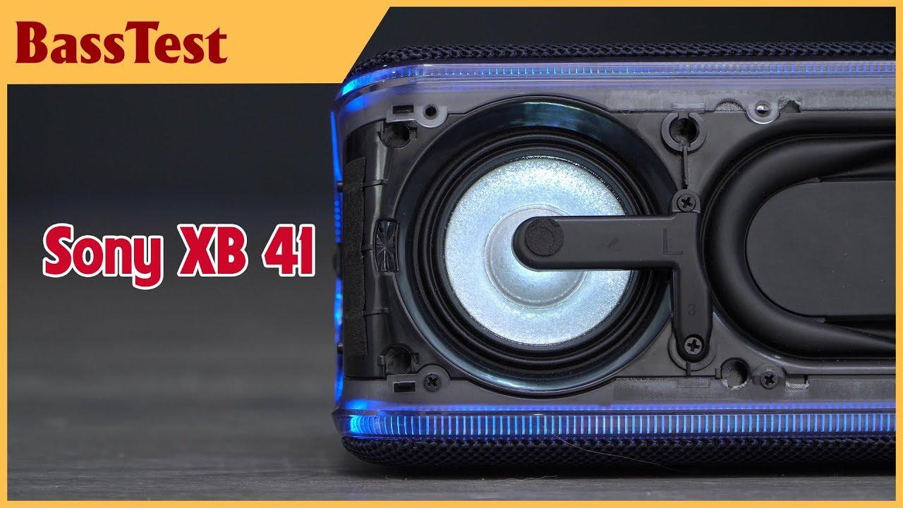Loa đẹp, bass trâu... xem thử xem có phê không? | Sony XB41 BassTest - video 4k