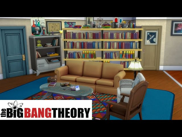 The big bang theory - Leonard and Sheldon's apartment  | The Sims 4 - House Building | no cc |