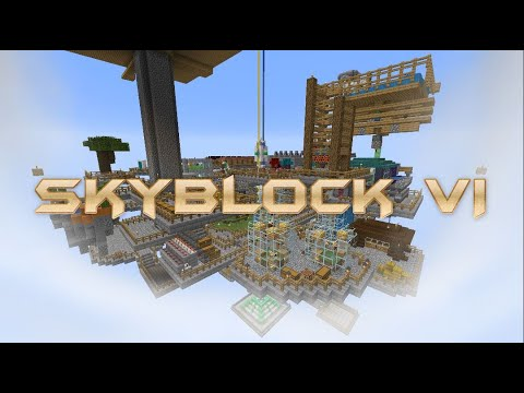 Download Skyblock Timelapse VI: The Sky-World (4k 60 fps) (2020)