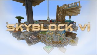 Skyblock Timelapse V  The Sky-World 4k 60 Fps 2020