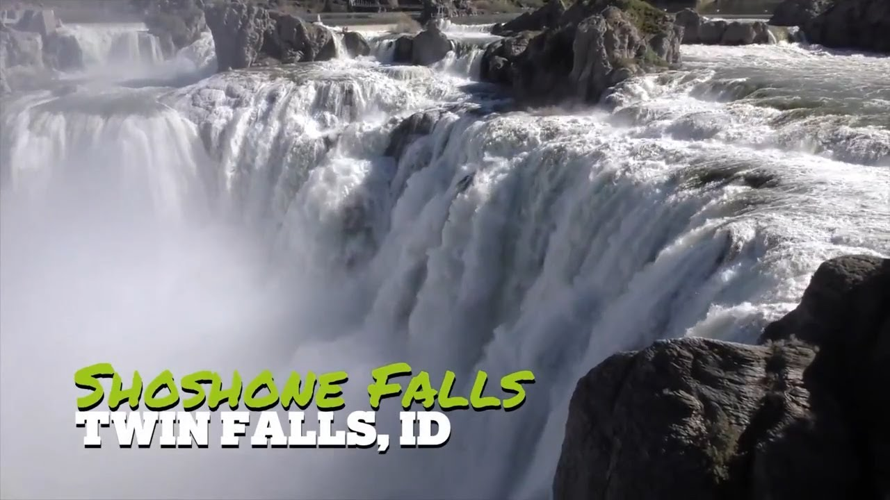 Shoshone Falls is flowing big time!   Twin Falls, Idaho