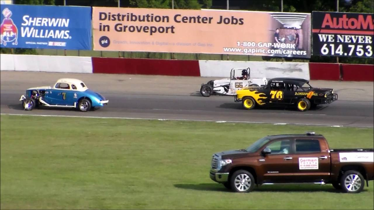 Marion Brooks Memorial Vintage American Race Cars (VARC) August 6 ...