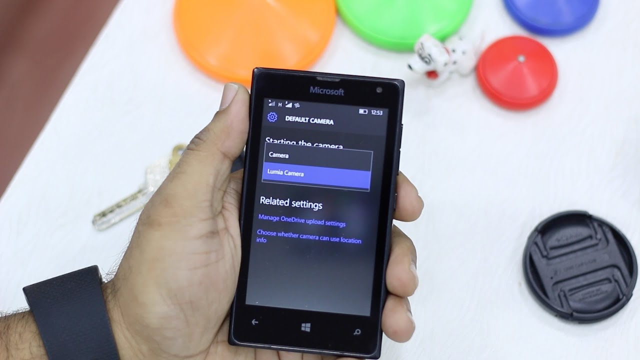 How To Change Default Camera App In Windows 10 Mobile Youtube