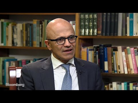 Microsoft CEO Satya Nadella on Trade Tensions and Cybersecurity