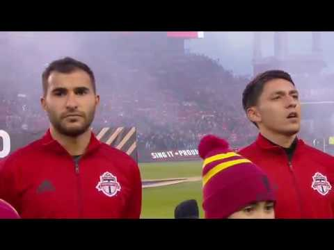 MLS Cup: Canadian National Anthem - December 9, 2017