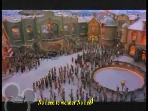 Hilary Duff - Santa Claus Lane with lyrics