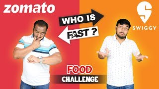ZOMATO VS SWIGGY | Burger King Meal Eating Challenge | Viwa Food World