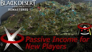 Passive Income for New Players - Black Desert Online