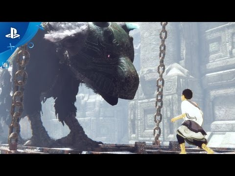 The Last Guardian – Action Gameplay Trailer   PS4
