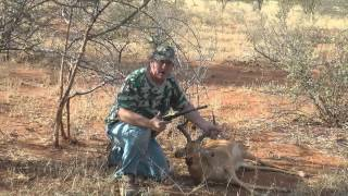 hunting impala with the buffalo brassframe 44 cal final mp4