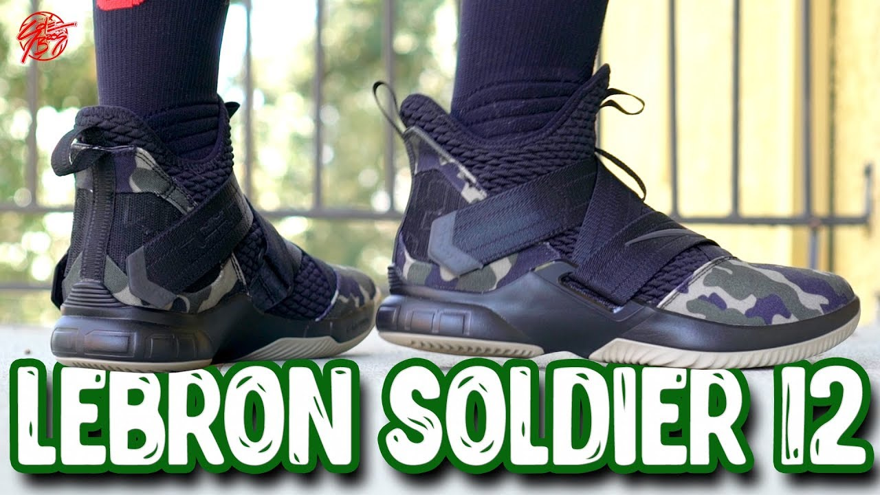 aa49e16ad2c Nike Lebron Soldier 12 First Impressions! - YouTube