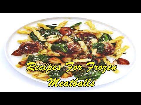 Recipes For Frozen Meatballs