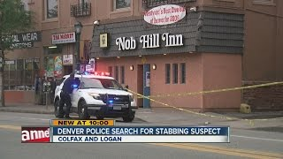 Man stabbed in neck outside Capitol Hill bar