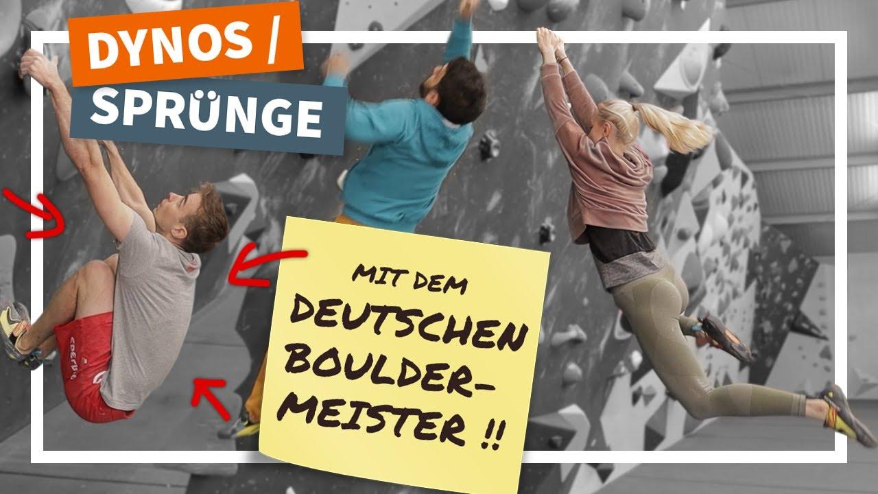 Sprünge mit dem dt. Bouldermeister und Scarpa Athlet Philipp Martin [RE-LAUNCH]   EINFACH KLETTERN