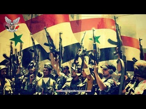 الجيش العربي  السوري قصيدة تكريما من الجزائر