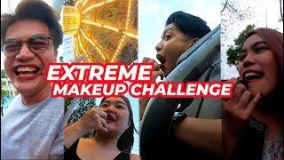Extreme Makeup Challenge at Enchanted Kingdom!   Arah Virtucio