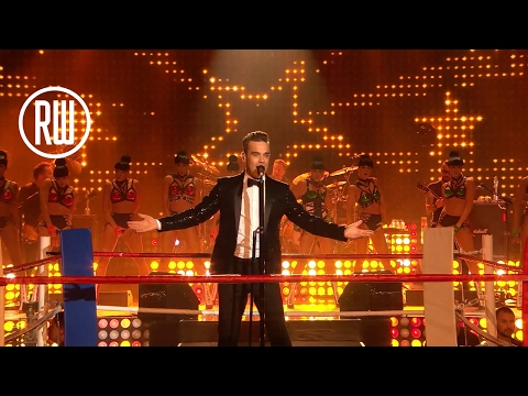 Robbie Williams | The Heavy Entertainment Show | BRITs Icon Award Show