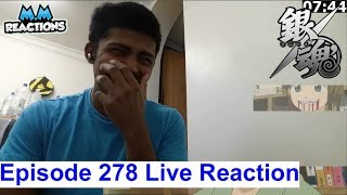 Mom & Lunch! - Gintama Anime Episode 278 Live Reaction