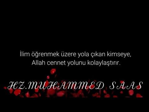Hz. Muhammed (Sallallahu Aleyhi ve Sellem) Güzel Sözleri