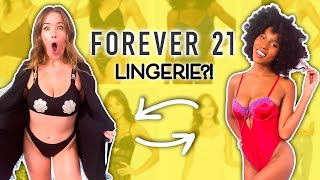 BFFs Buy Each Other LINGERIE From Forever21?!