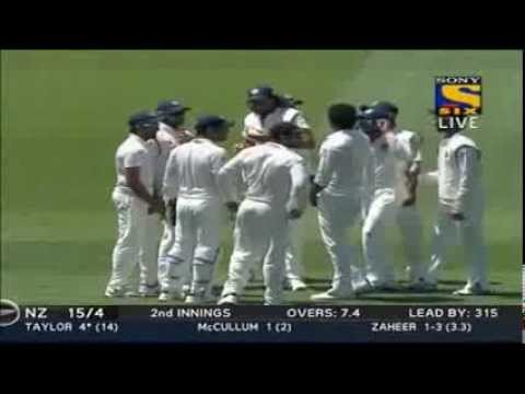 NZ all out for 105 vs India 2nd test Auckland Full HD