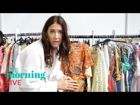 Lisa Snowdon REVEALS clothing backstage | This Morning Live