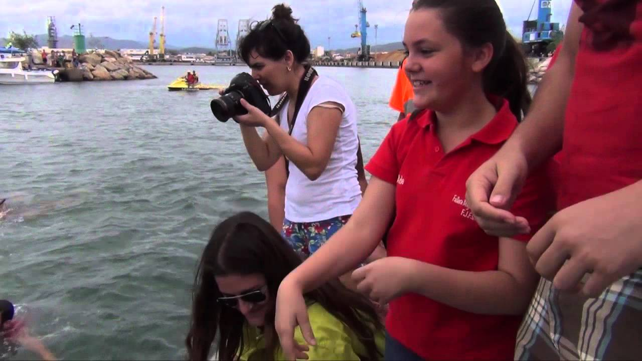 Suelta de Patos y Mascletá Cucañas Fiestas Puerto Sagunto