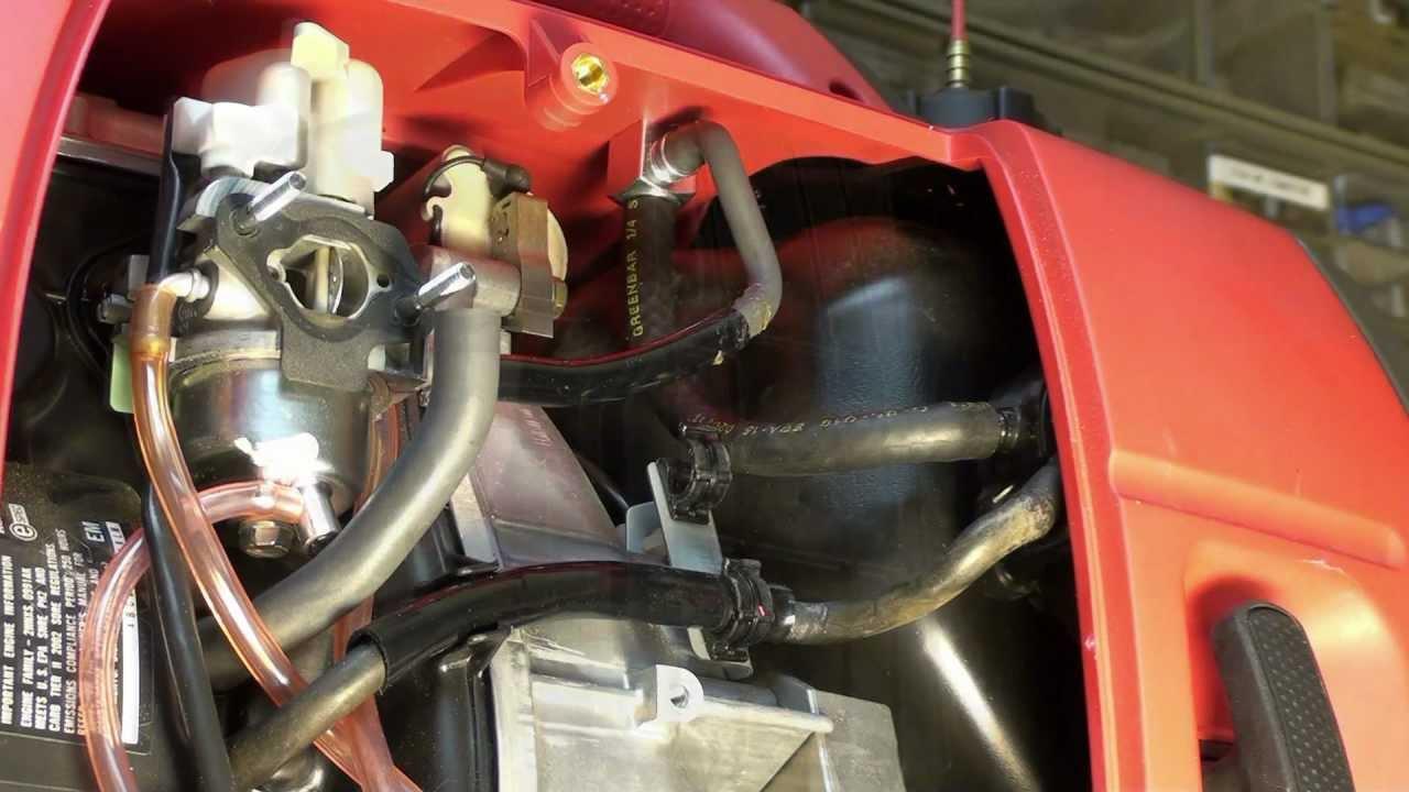 Honda EU2000i Fuel Problem  Final  YouTube