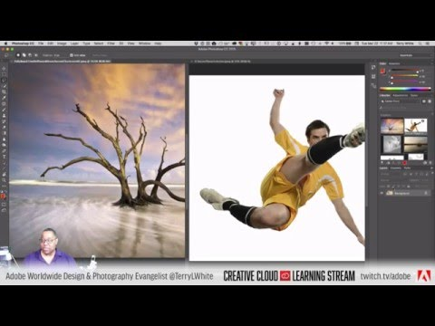 Introduction To Adobe Photoshop CC - Partt 01 - The Interface | Tutorial