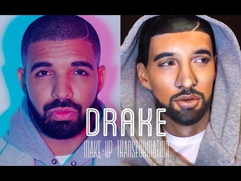 DRAKE make-up TRANSFORMATION!!!