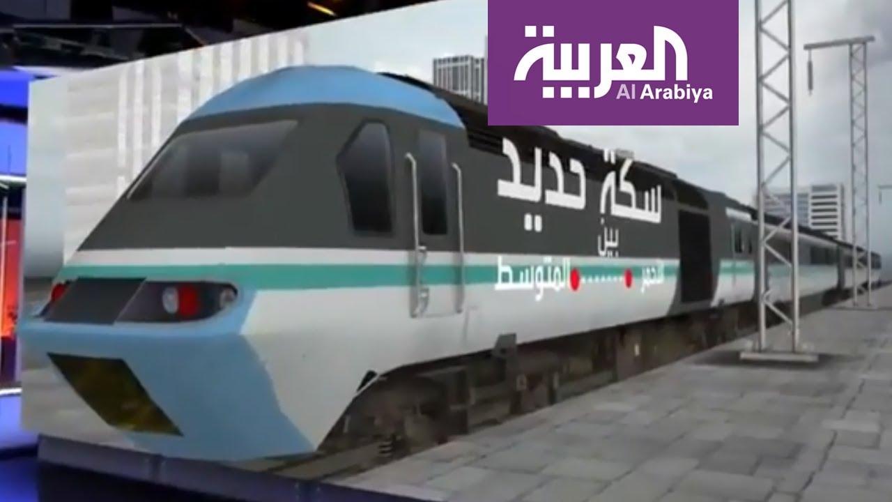 مشروع مصري جديد سكة حديد بين الأحمر والمتوسط Youtube