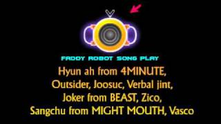 FADDY ROBOT - Featuring BEAST 용준형 & 4 MINUTE 현아