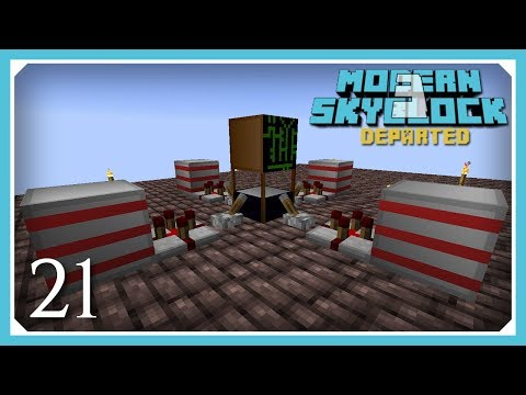 Modern Skyblock 3 Departed | Factory Tech Energy Core! | E21 (Modern Skyblock 3 Gated)
