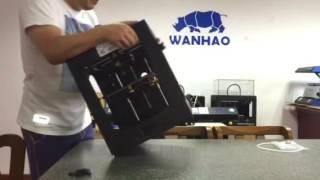 Wanhao Duplicator 6 adding rubber feet