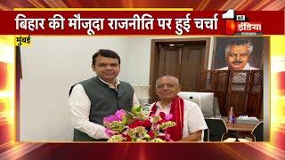 चैनल हैड Jagdeesh Chandra ने Maharashtra के पूर्व CM Devendra Fadnavis से की शिष्टाचार मुलाकात