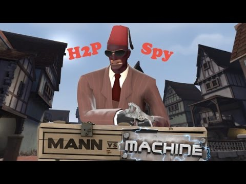 how to play spy tf2 mvm