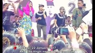 Kampanye di Tambun, Ahmad Dhani Ajak The Virgin dan Mulan Tampil Berjilbab - Obsesi 23/01