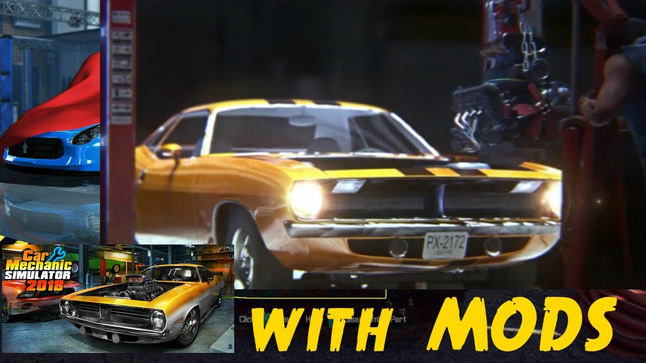 Car Mechanic Simulator 2018 New Car Editor For Mods