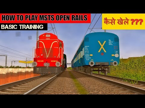 How to Play MSTS Open Rails | Loco Pilot Training | Indian Train Simulator