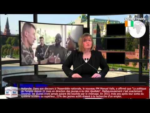 """Que fait Gbagbo à la CPI ?"", s'interroge une TV russe qui y verrait bien Ouattara"