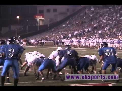EHSports.com - Bradley Glatthaar scores a touchdown