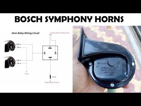 Bosch Symphony Horns Installation on Pulsar 220